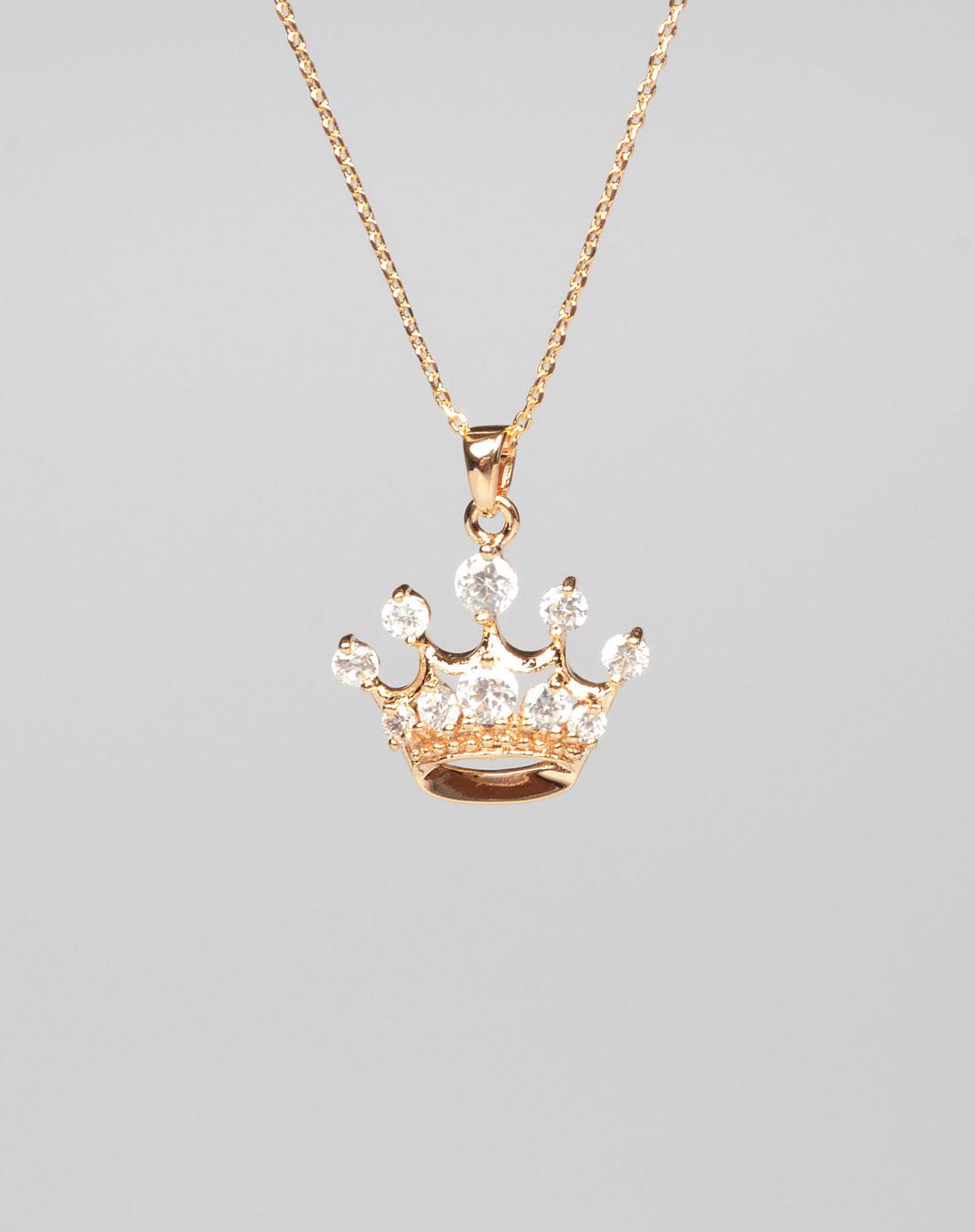 公主皇冠项链