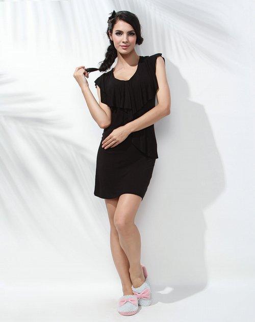 女黑礹/&�yi)��-z)�bi_心爱 女款黑色网纱拼接性感内裤