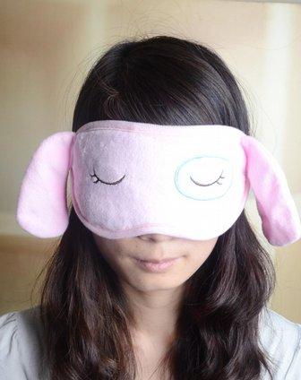 卡通眼罩(粉色)