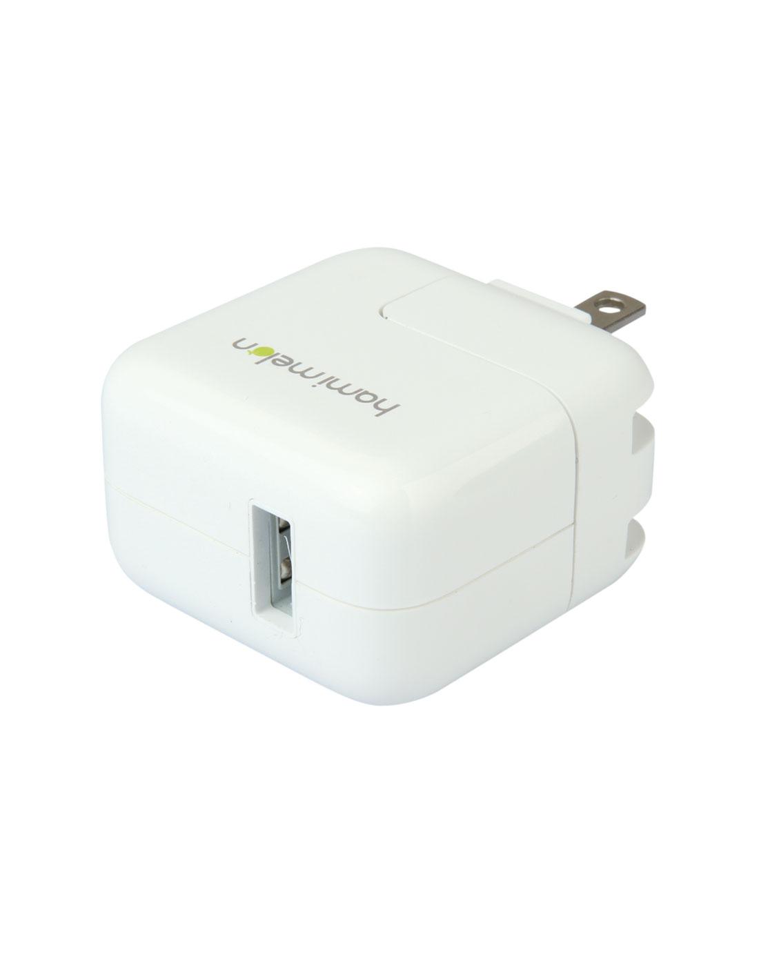 哈蜜瓜 ipad12w通用白色电源适配充电器(家用/便携/旅行充电器)