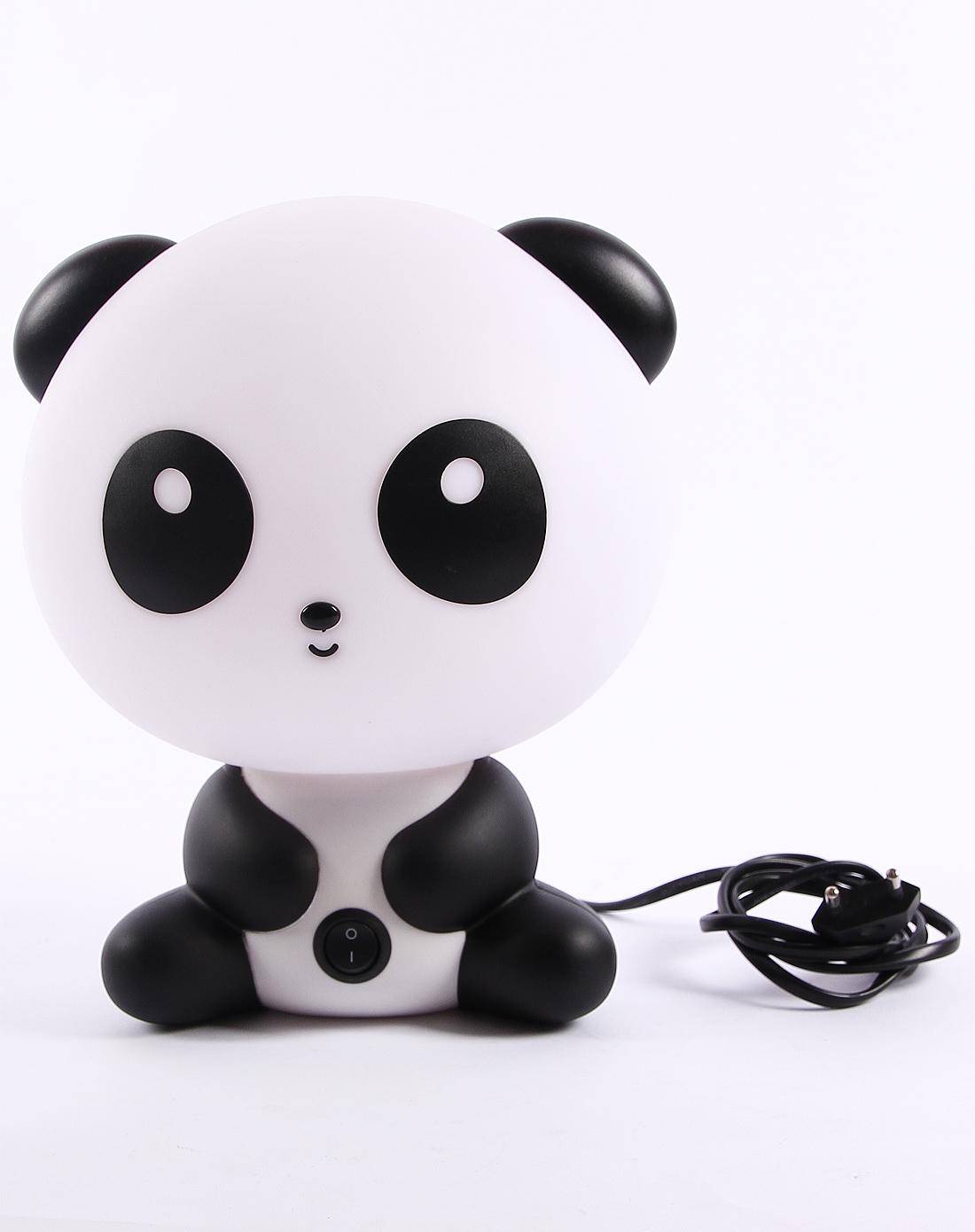 h&3家居用品专场白黑色可爱熊猫台灯6920130528480