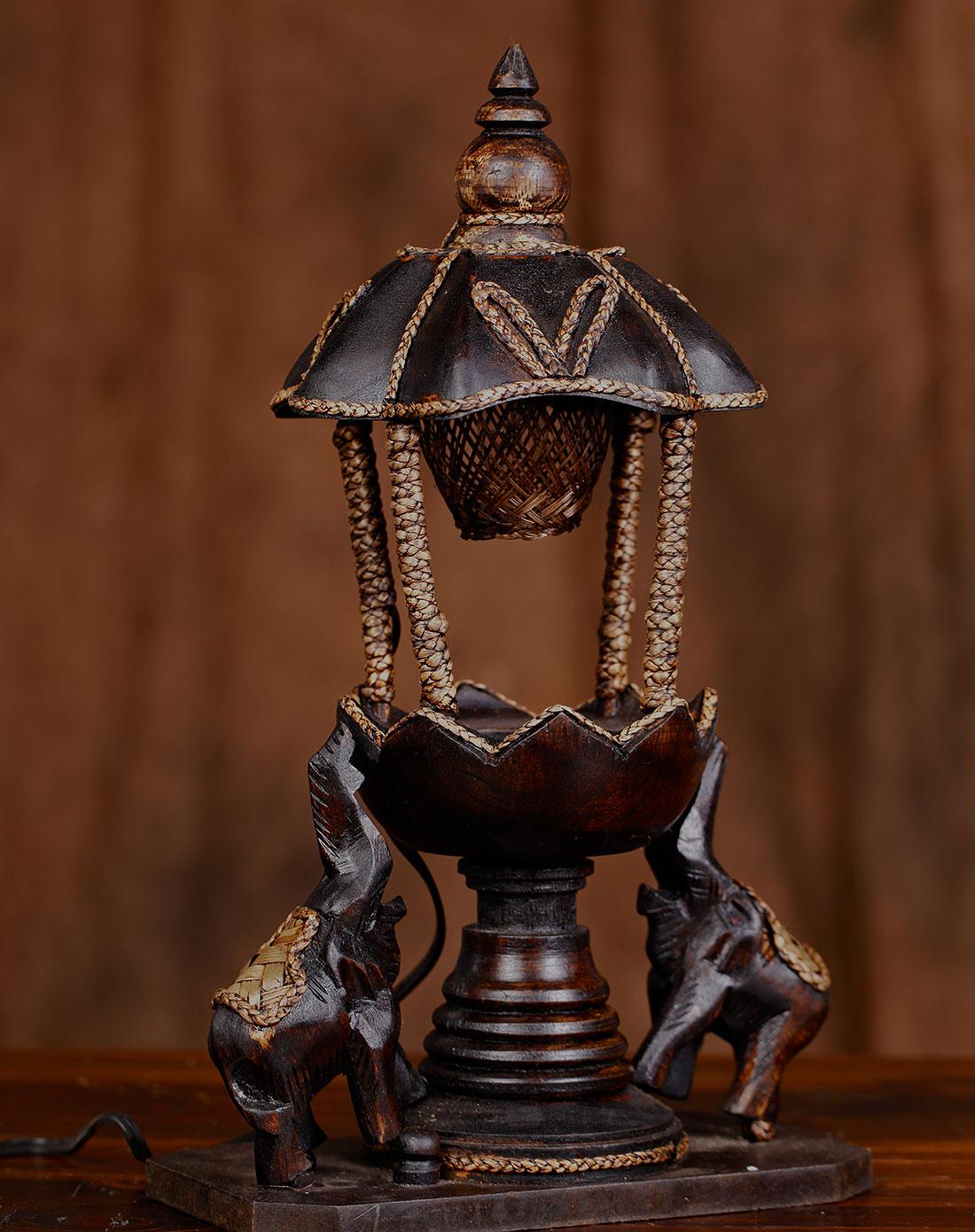 【泰国进口】手工制作大象灯
