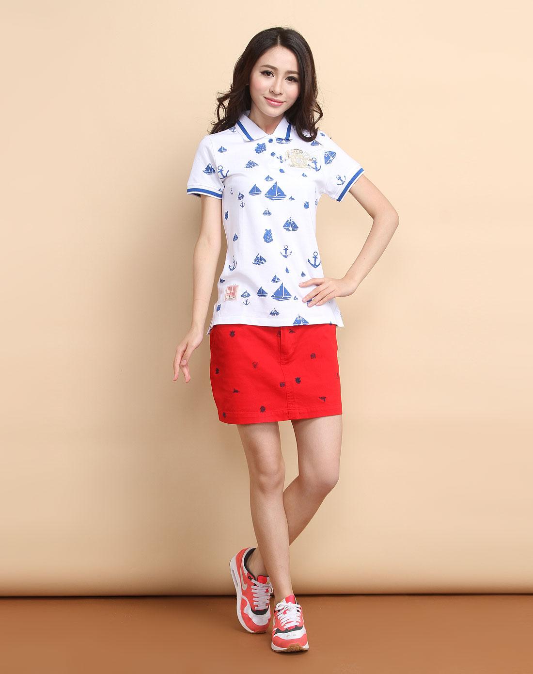 小熊维尼winnie the pooh白针织短袖t恤ps19201080
