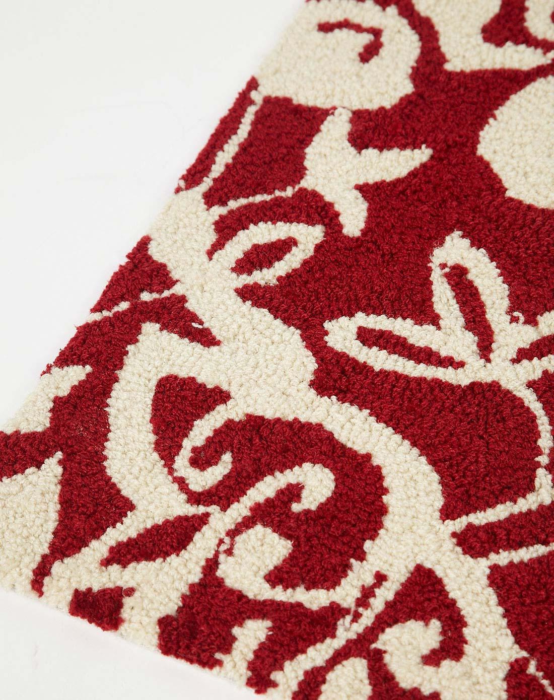 85*45cm超大柔软高级手工编织地毯