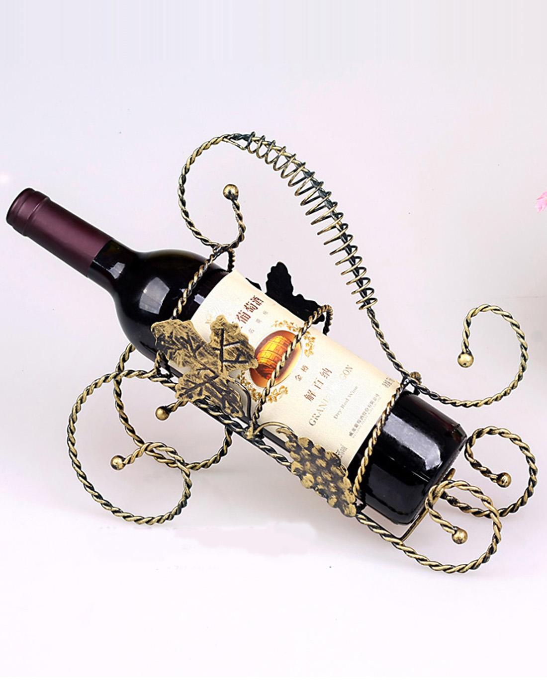 欧式铁质葡萄红酒架