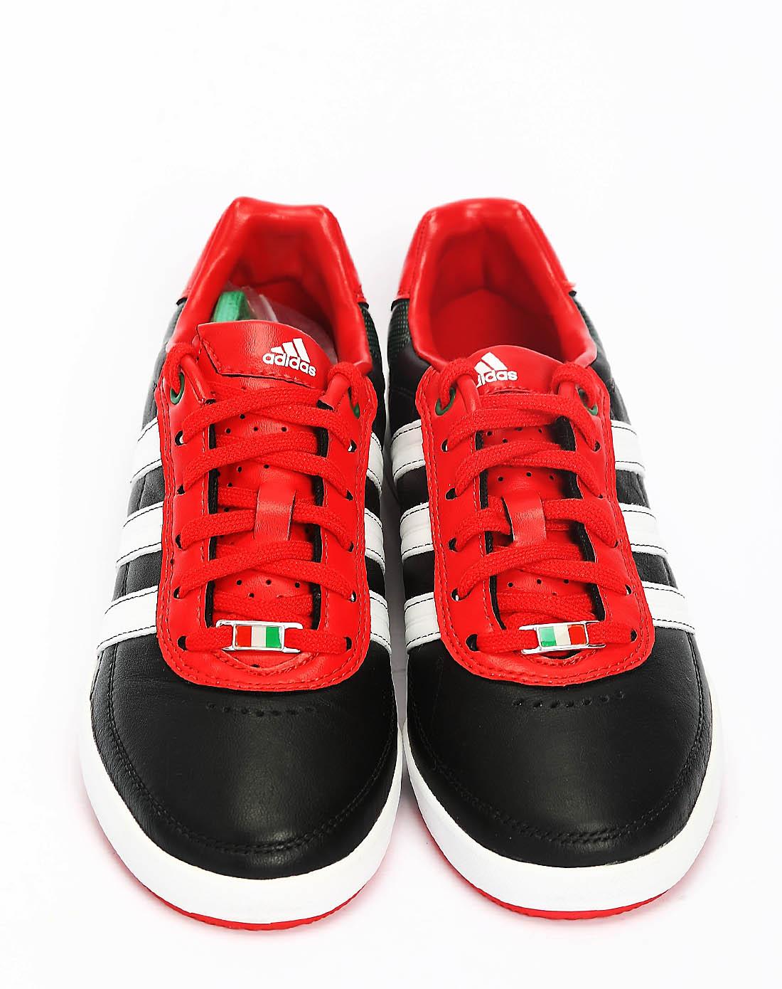 阿迪达斯adidas男子黑色足球鞋g40763