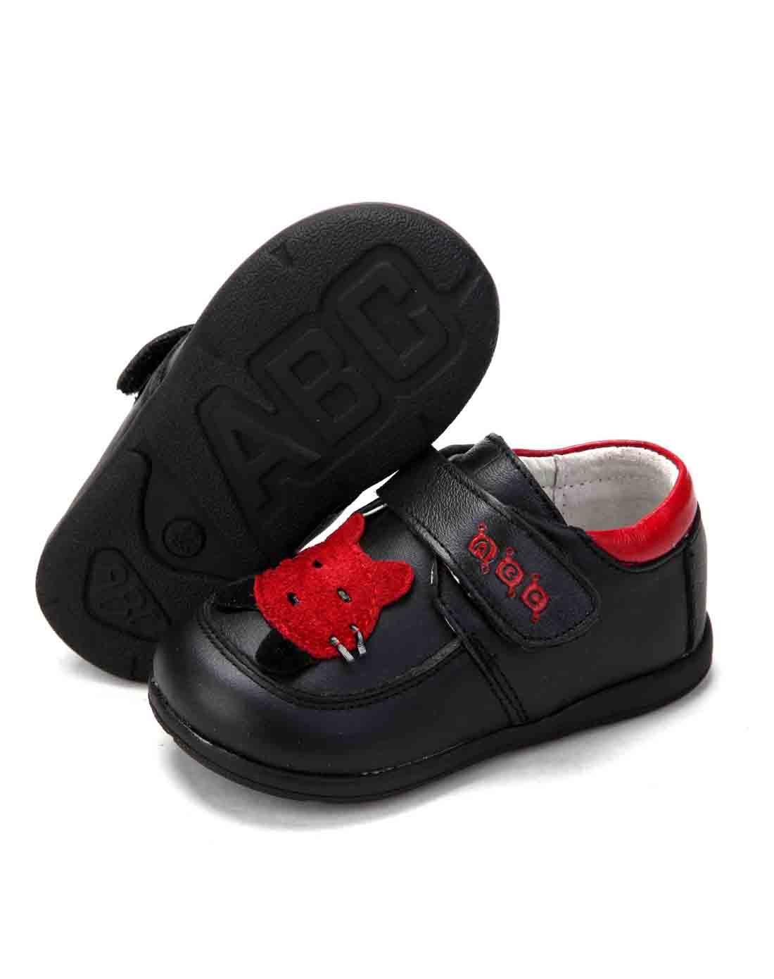abckids童装童鞋专场男宝宝鞋黑色皮鞋p21214515