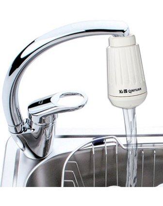 沁园qg-u1-02(白色)厨房小精灵水龙头净水器 免安装