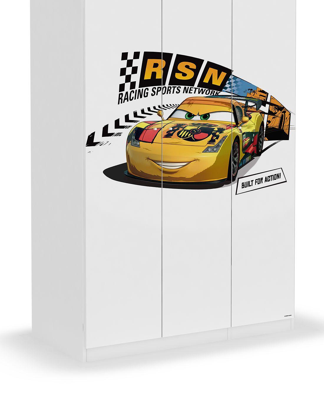 迪士尼disney家具汽车速度赛道三门衣柜f105400316