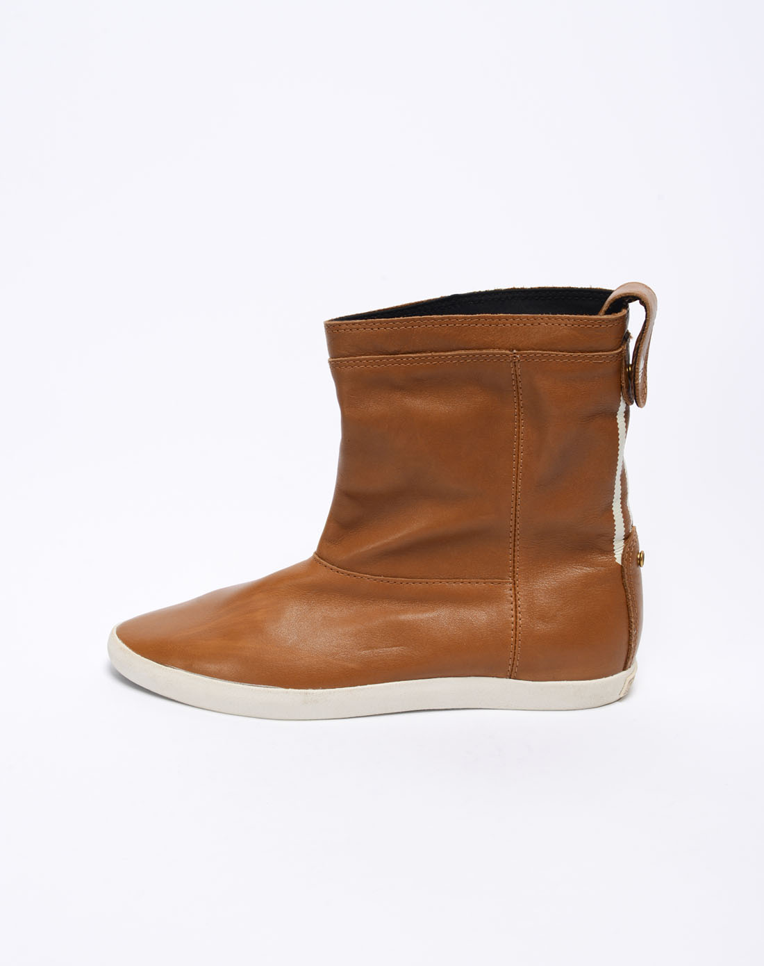 子棕色短靴v24162