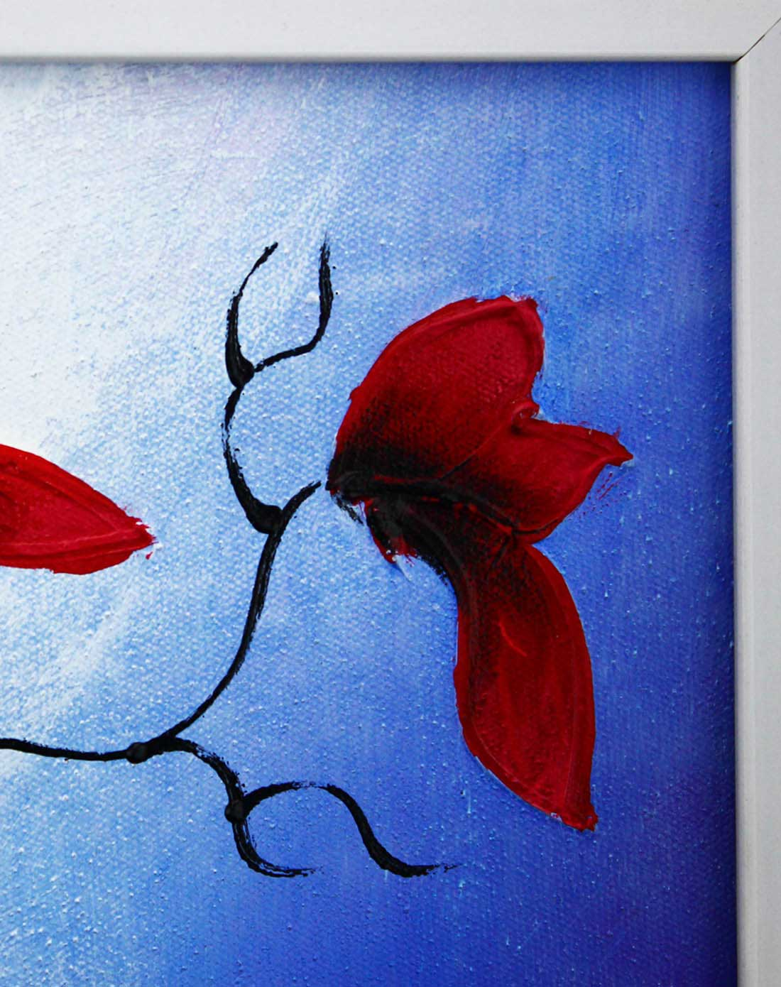 手绘油画-玉兰花