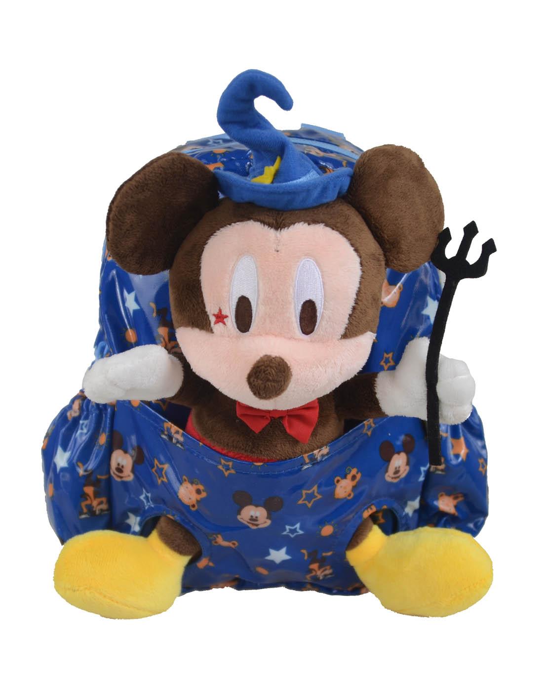 迪士尼disney儿童用品专场男童宝蓝色米奇儿童卡通包