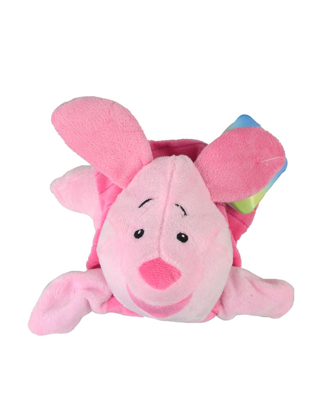 粉红色时尚卡通小猪手偶y