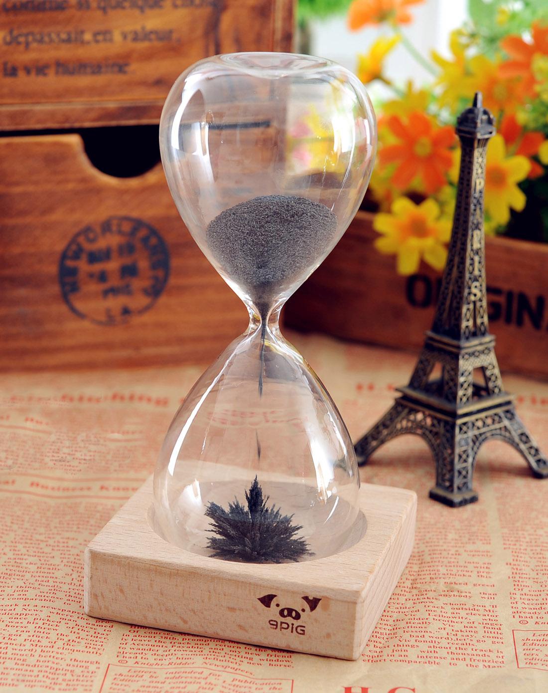 magnet hourglass创意磁力沙漏