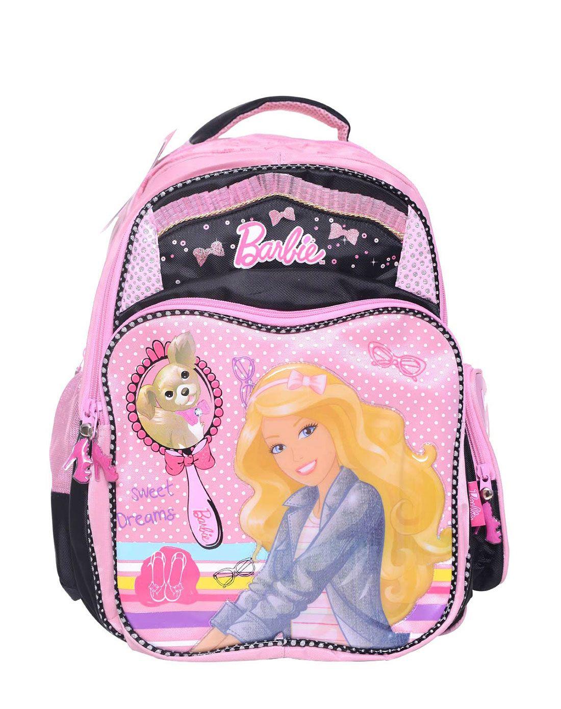 小公主开学必买文具书包专场芭比卡通书包(大)bbsg-2
