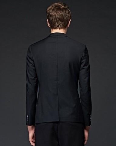 黑白西装衣领头像