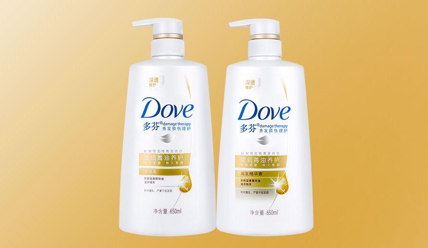联合利华旗下品牌洗护专场多芬营润菁油养护洗发乳650