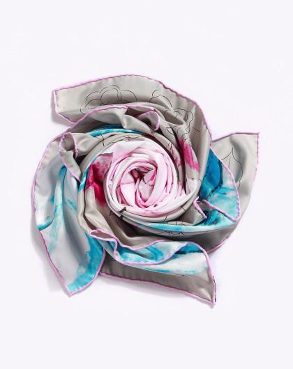 emmr 玫瑰心语时尚款方巾