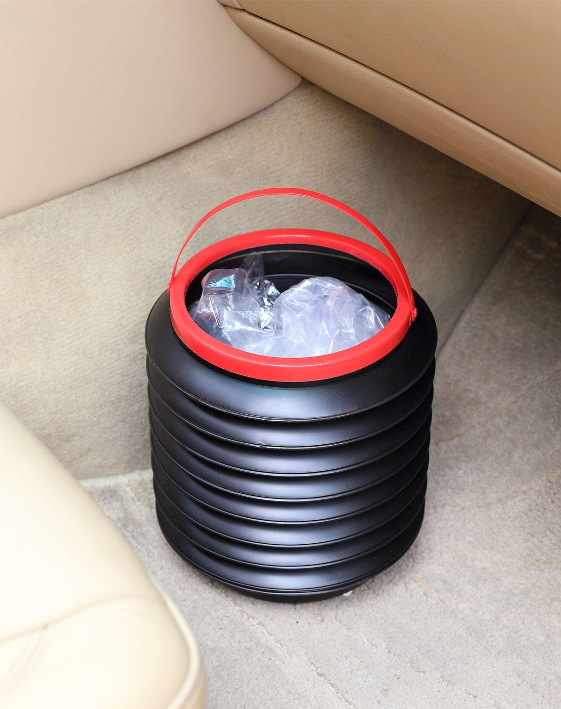 科特豪斯车载收纳折叠垃圾桶黑色pb9447-bk