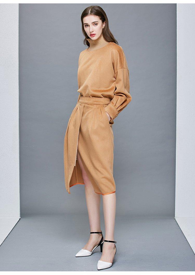 时尚套装_宽松休闲优雅复古时尚套装