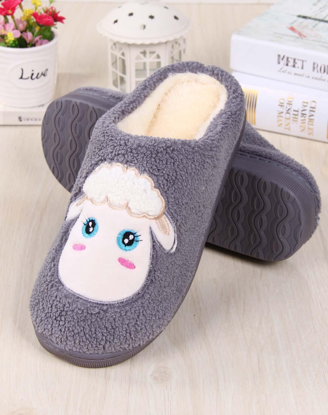 简笔画可爱棉鞋子