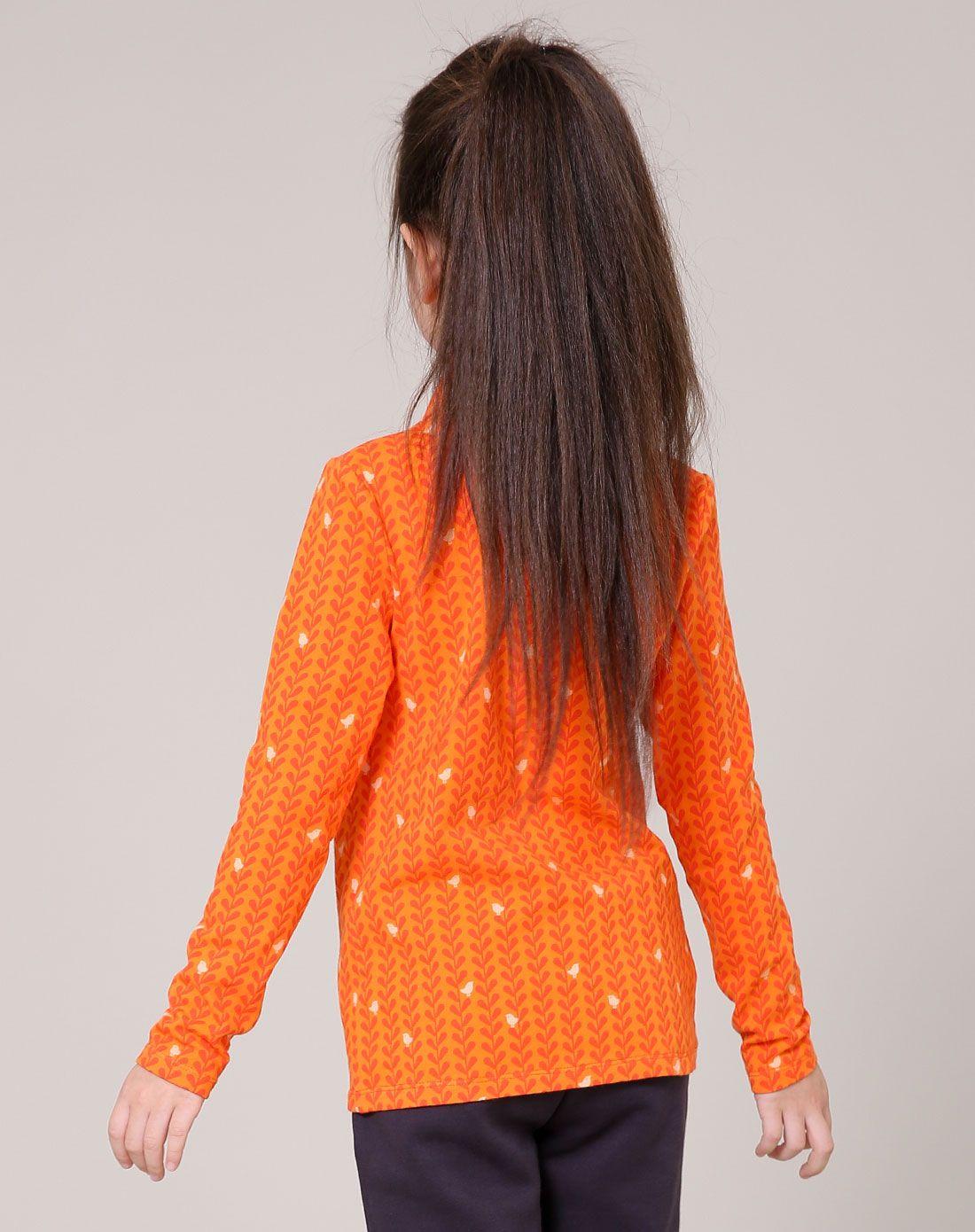 恋采依女童专场女童橙色高领打底衫15aw12015cheng