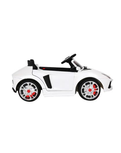 福儿宝儿童电动车新款兰博基尼白色