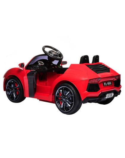 福儿宝儿童电动车新款兰博基尼红色