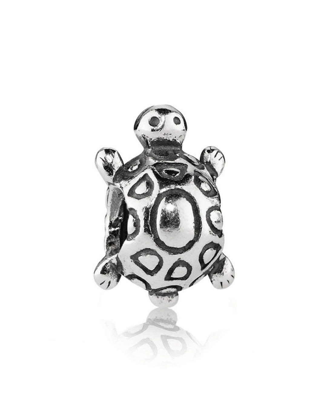 pandora潘多拉 可爱动物-小乌龟 925纯银串饰790158