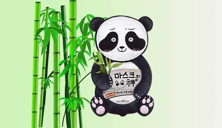 韩妆就介么easy!beyond 面膜之神- 熊猫美白动物面膜