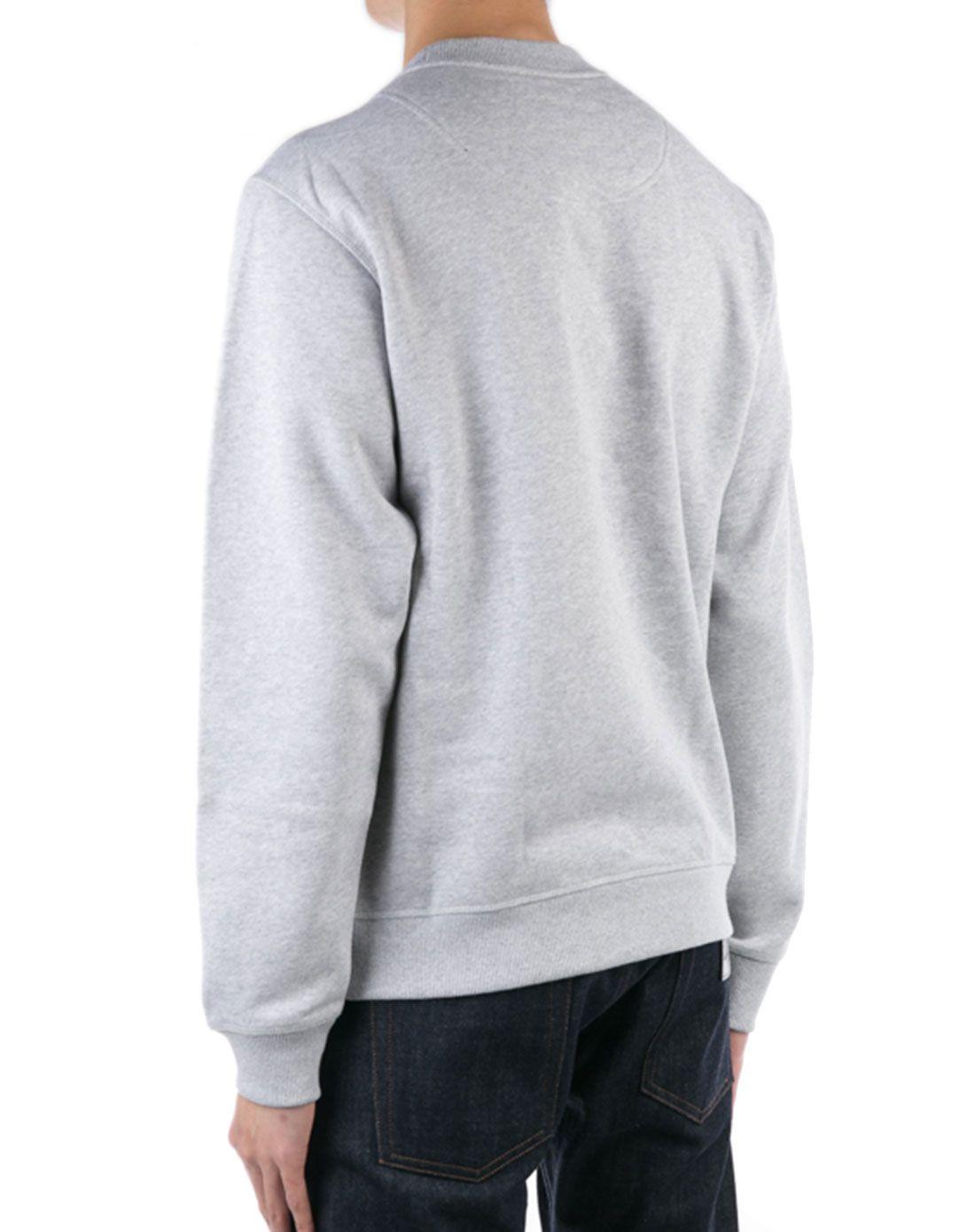 > kenzo灰色树形图案时尚卫衣图片