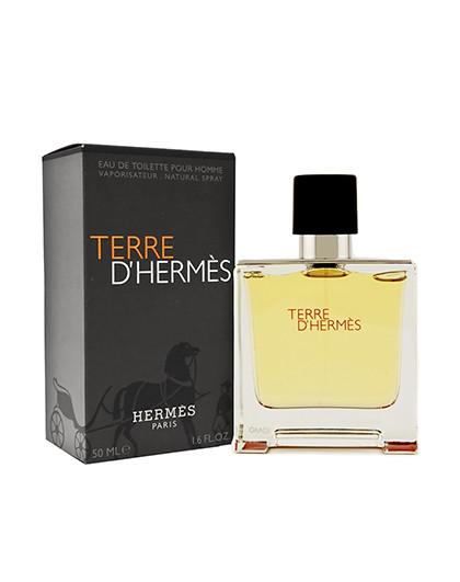 HERMES  Terre大地中性男士淡香水 50ml 植物 矿物精华