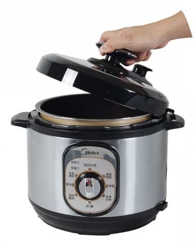 美的厨电专场美的机械式安全双胆电压力锅5lw13pch