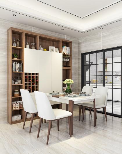 定制金 索菲亞餐廳酒柜多功能隔斷柜吧臺客廳壁掛現代簡約餐邊柜