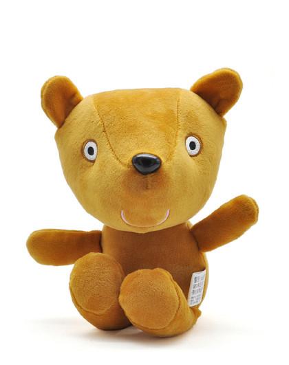 小猪佩奇毛绒恐龙玩具儿童宝宝佩琪泰迪熊公仔布娃娃安抚玩偶布偶