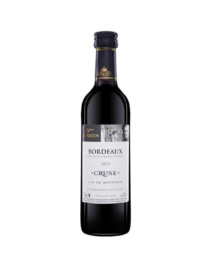 波尔多干红250ML葡萄酒小支红酒小瓶酒
