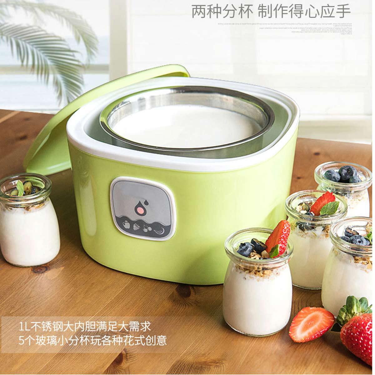 乾越全自动酸奶机家用玻璃分杯自制米酒COLOR绿色