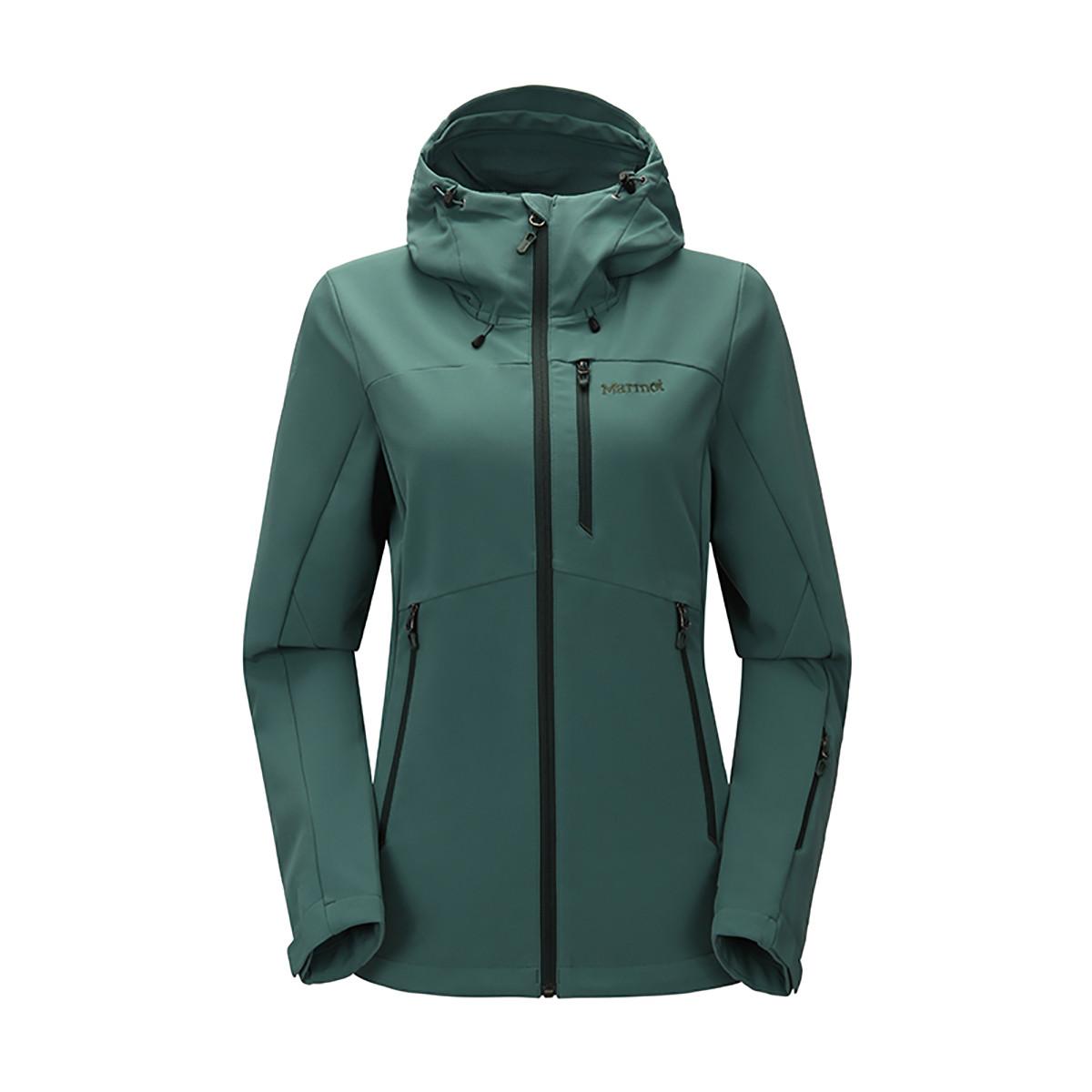 土拨鼠土拨鼠Marmot 冬季防风防泼水透气女款软壳衣L457504759