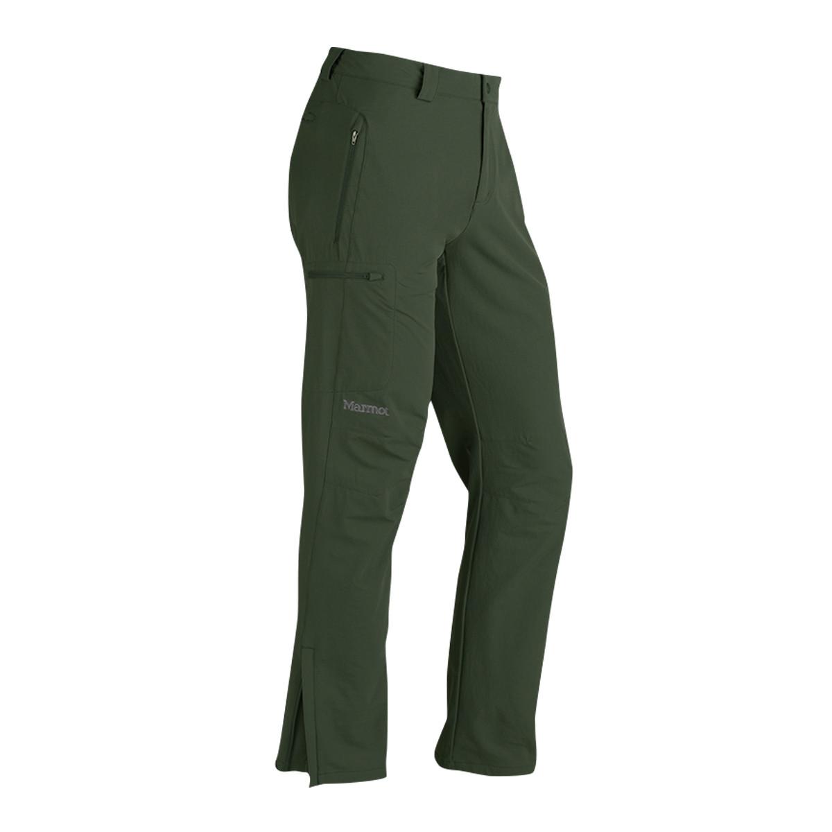土拨鼠土拨鼠Marmot  户外防泼水透气男款软壳裤Z809504373
