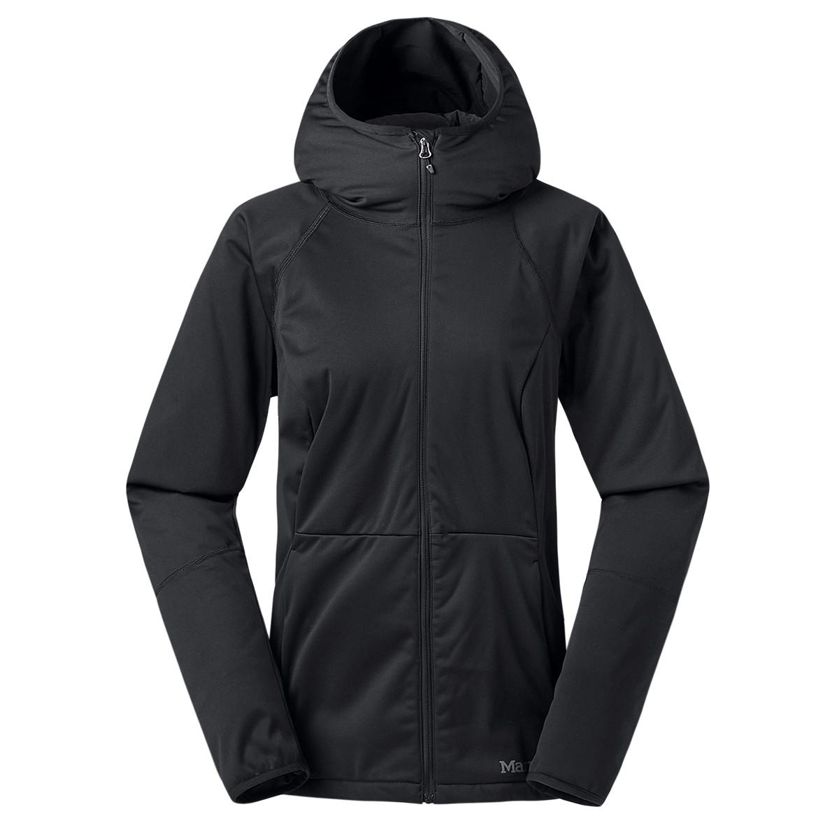 土拨鼠土拨鼠Marmot 2019年新款防风防泼水 透气舒适女款M1软壳上衣V86500001