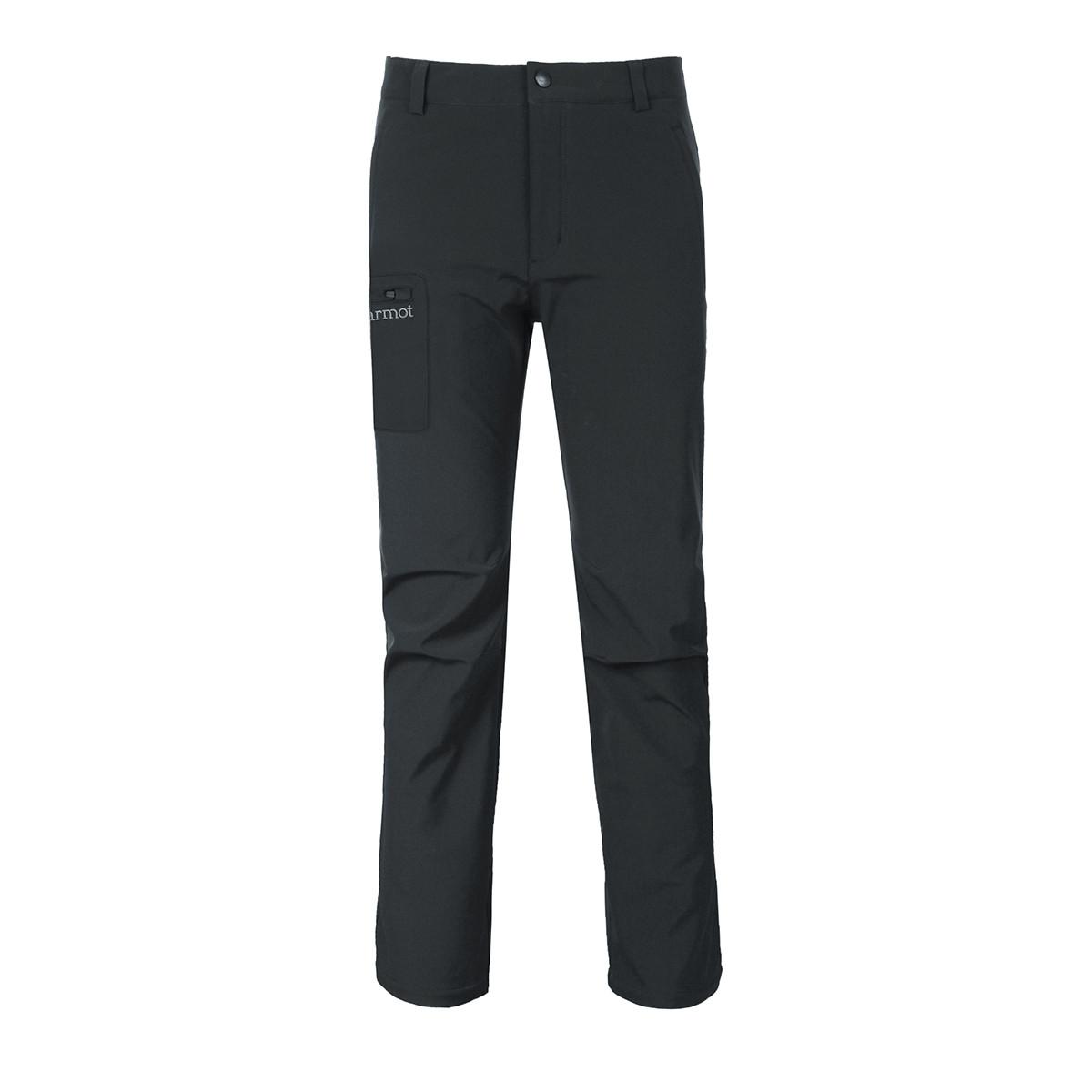 土拨鼠土拨鼠Marmot 新款防风防泼水保暖透气男士M1软壳裤V809831137