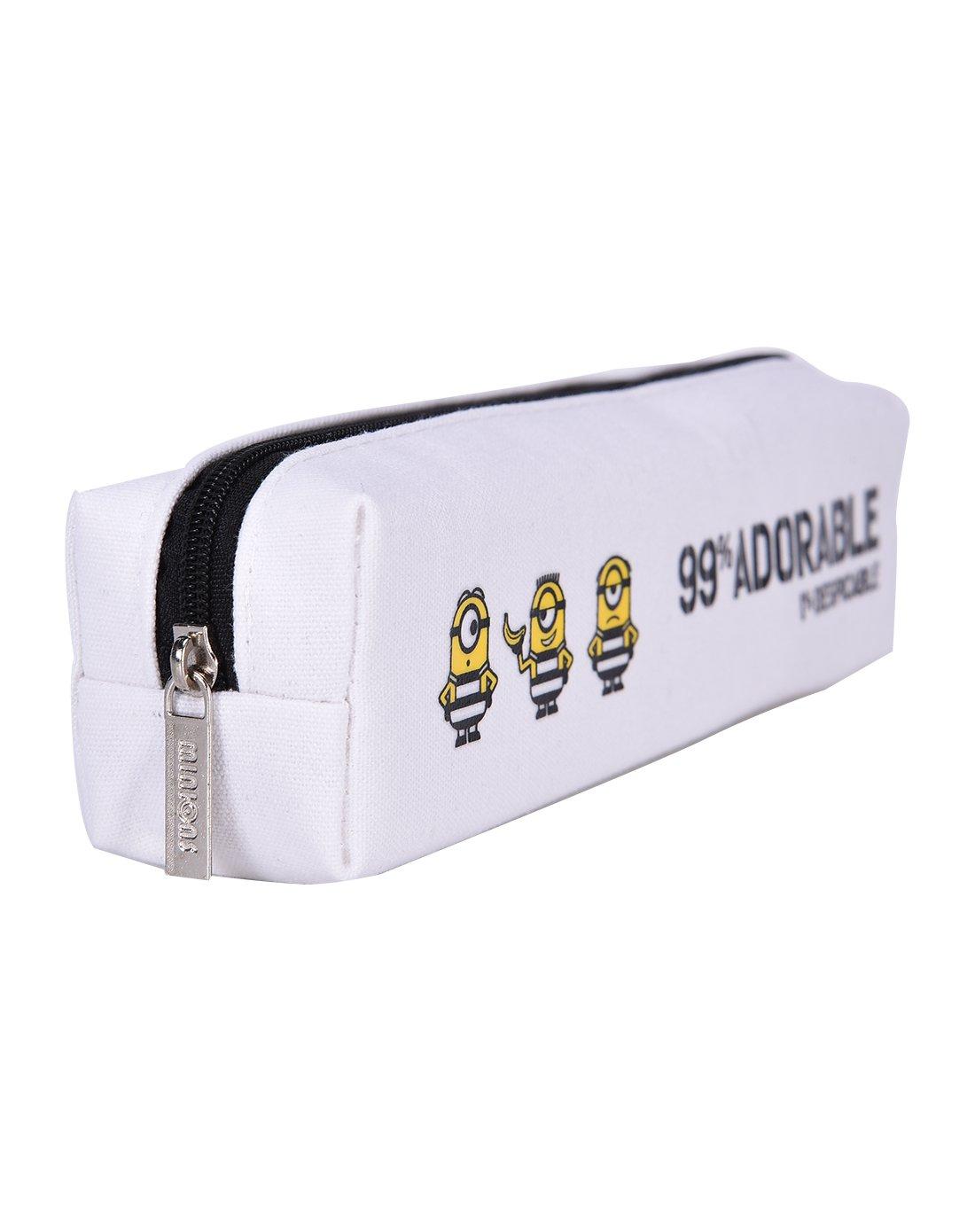 小黄人黑白黄系笔袋