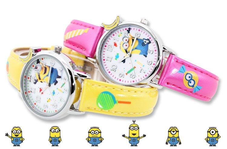 小黄人可爱儿童手表