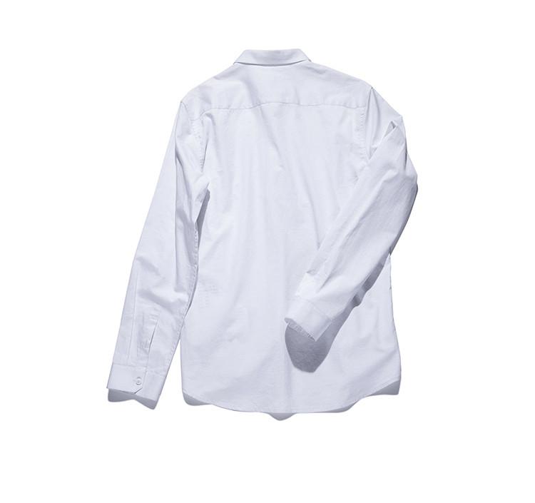 图案印花白衬衫白色图片