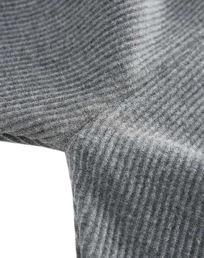 多多马女童加绒灰色打底裤