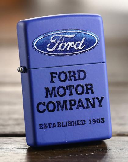 zippo 福特车标-哑漆彩印常规机