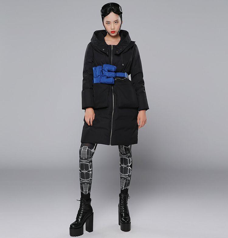 d2c设计师专场d2c 刘思聪《我的新衣》长款皮卡羽绒服