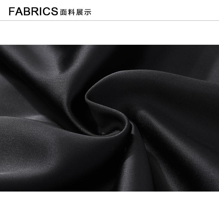 简约线条时尚夹克纯黑
