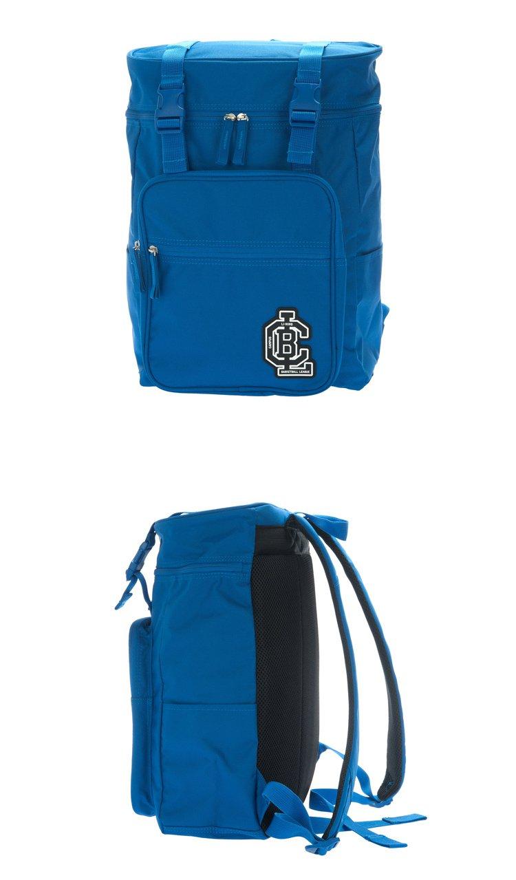 中性蓝色背包 运动时尚图片