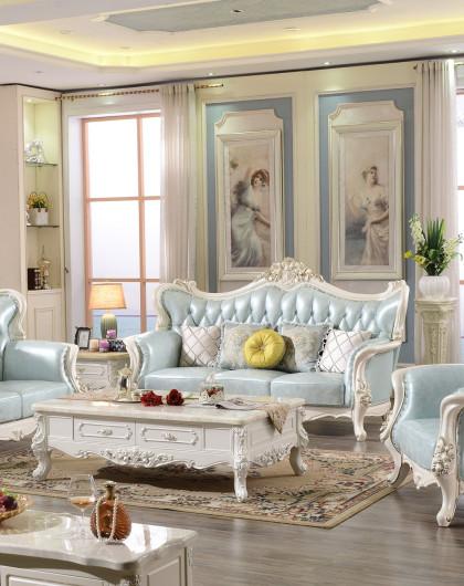 回馈特价豪华1 2 3组合沙发 精致实木雕刻玫瑰花型